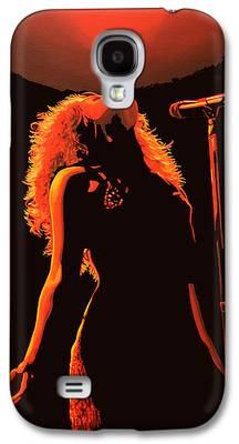 Shakira Paintings Galaxy S4 Cases