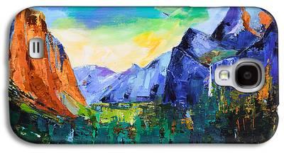 El Capitan Paintings Galaxy S4 Cases