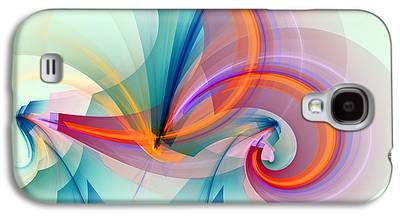 Vertical Digital Art Galaxy S4 Cases