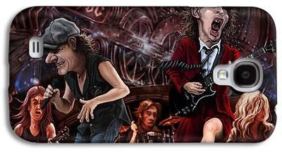 Caricature Digital Art Galaxy S4 Cases