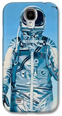 Astronaut Galaxy S4 Cases