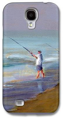 Jersey Shore Paintings Galaxy S4 Cases