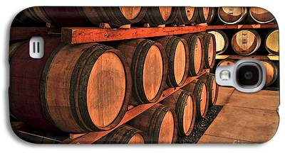 Wine Barrel Photographs Galaxy S4 Cases