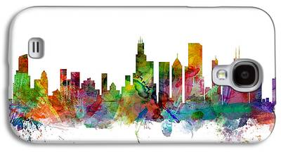 Chicago Skyline Galaxy S4 Cases