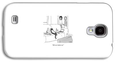 Lounge Drawings Galaxy S4 Cases
