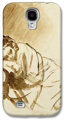 Exhaust Drawings Galaxy S4 Cases