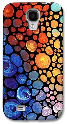 Modern Abstract Paintings Galaxy S4 Cases