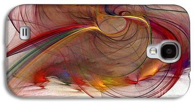 Contemplative Digital Art Galaxy S4 Cases