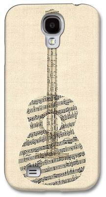 Sheet Music Galaxy S4 Cases