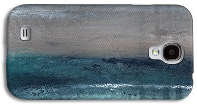 Abstract Beach Landscape Galaxy S4 Cases