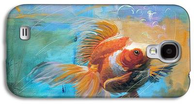 Goldfish Galaxy S4 Cases