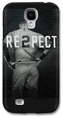 Baseball Uniform Galaxy S4 Cases