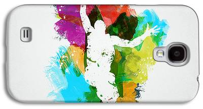 Basketball Abstract Galaxy S4 Cases