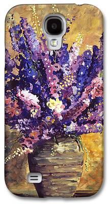 Interior Still Life Paintings Galaxy S4 Cases