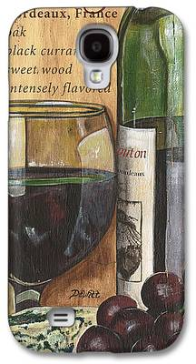 French Wine Bottles Galaxy S4 Cases