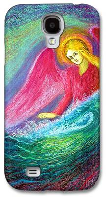 Blessings Paintings Galaxy S4 Cases