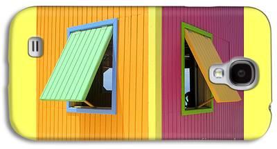 Cabin Window Galaxy S4 Cases