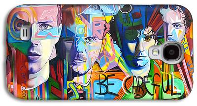 Coldplay Paintings Galaxy S4 Cases