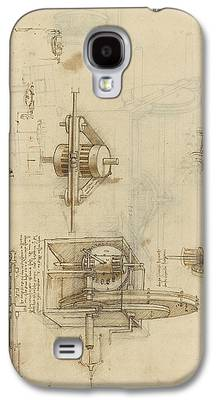 Ink Drawing Galaxy S4 Cases