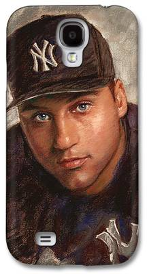Derek Jeter Galaxy S4 Cases