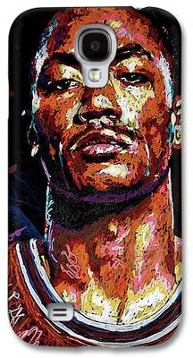 Knicks Paintings Galaxy S4 Cases