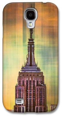 New York City Skyline Galaxy S4 Cases