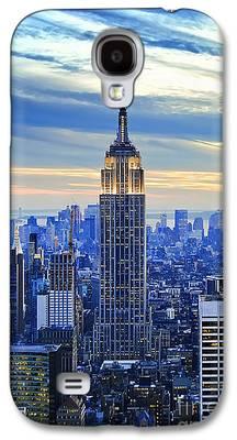 City Sunset Galaxy S4 Cases