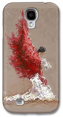 Flames Galaxy S4 Cases