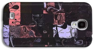 Abbstract Floral Digital Art Digital Art Galaxy S4 Cases