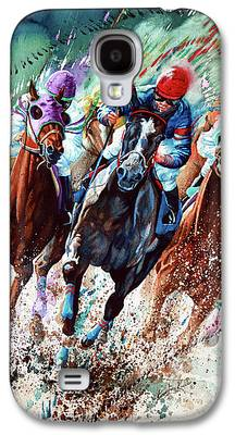Horse Racing Galaxy S4 Cases