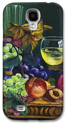 Fruit And Wine Galaxy S4 Cases