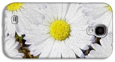 Flower Still Life Mixed Media Galaxy S4 Cases