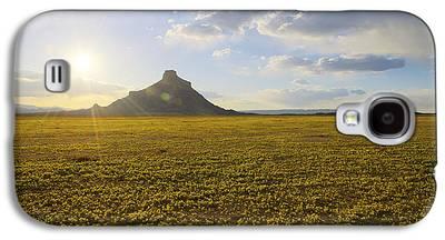 Desert Sunset Galaxy S4 Cases