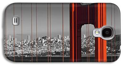 Downtown San Francisco Galaxy S4 Cases