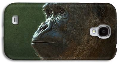 Gorilla Digital Art Galaxy S4 Cases