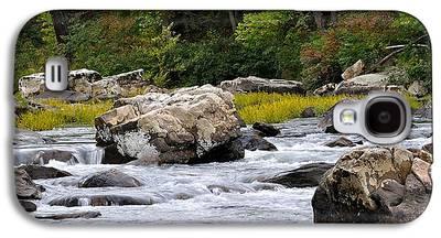 Trout Stream Landscape Galaxy S4 Cases