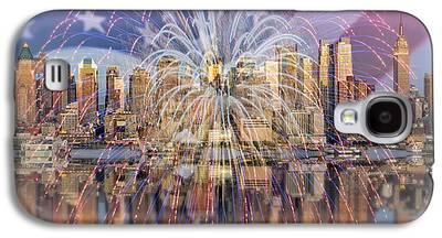 American Independance Digital Art Galaxy S4 Cases
