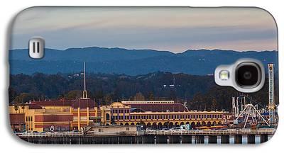 Santa Cruz Wharf Galaxy S4 Cases