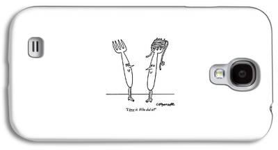 Spaghetti Galaxy S4 Cases