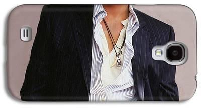 Johnny Depp Galaxy S4 Cases