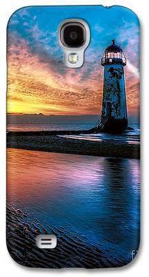 Lighthouse Digital Art Galaxy S4 Cases