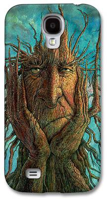Branches Paintings Galaxy S4 Cases
