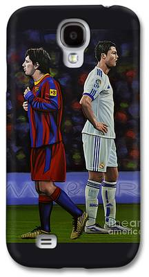 Sports Paintings Galaxy S4 Cases