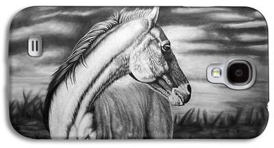 Westerns Drawings Galaxy S4 Cases
