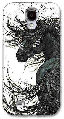 Native American Spirit Portrait Galaxy S4 Cases