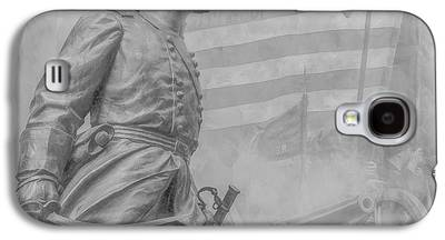 Statue Of Confederate Soldier Galaxy S4 Cases