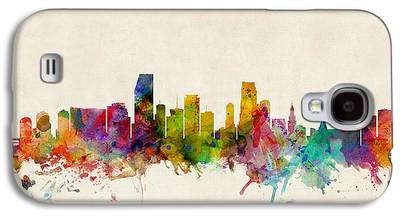 Miami Skyline Galaxy S4 Cases