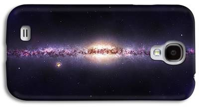 Constellations Mixed Media Galaxy S4 Cases