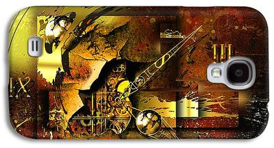 Technical Mixed Media Galaxy S4 Cases