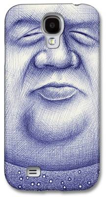 Men Drawings Galaxy S4 Cases